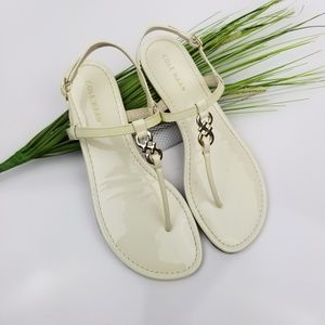 Cole Haan 'Ally' Leather Sandal Sz 8.5M